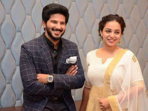 Dulquer Salmaan And Nithya Menen Come Together Once Again! - Filmibeat