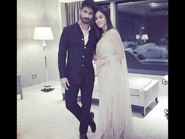 B-town Wished Shahid & Mira