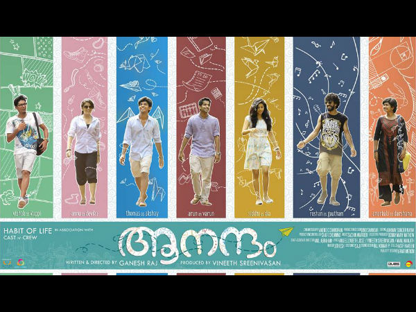 First Look Poster Of Aanandam