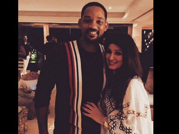 Twinkle Khanna With Will Smith