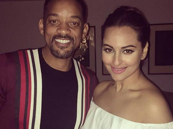 Sonakshi With Will Smith