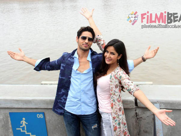 Katrina On dancing With Sidharth