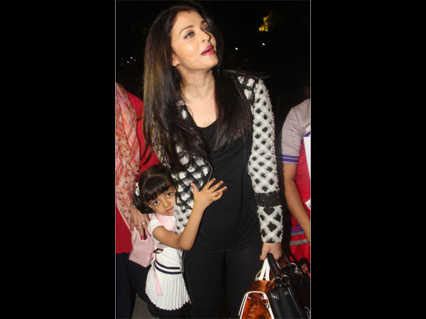 Aish Worried About Daughter