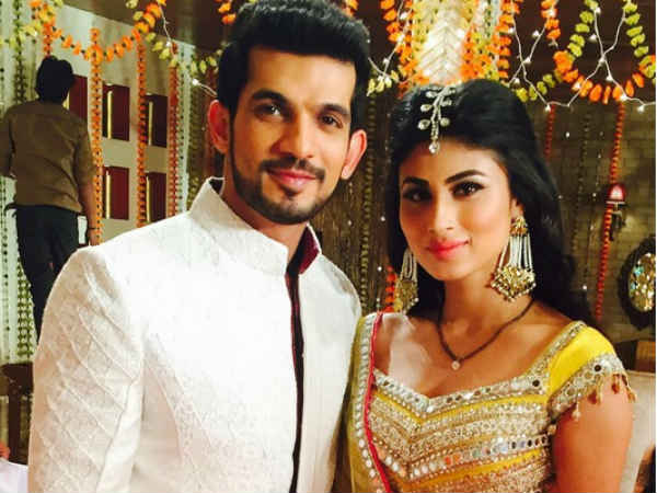 Naagin Actors Mouni Roy & Arjun Bijlani In Kawach?