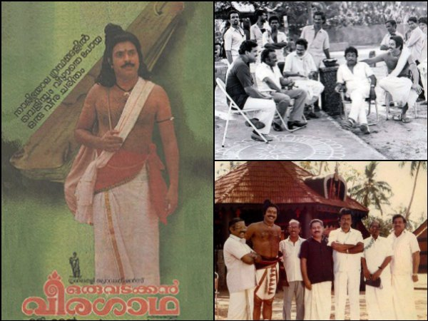 FLASHBACK! Some Rare And Unseen Stills From The Sets Of Oru Vadakkan Veeragatha!
