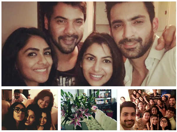 Kumkum Bhagya Actors - Shabbir, Mrunal, Leena & Others Party At Sriti's New House!