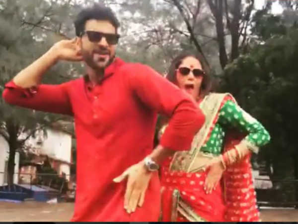 Don't Miss! Mona Singh & Vivek Dahiya Shake Legs For Beat Pe Booty In Their Way & It's Awesome!