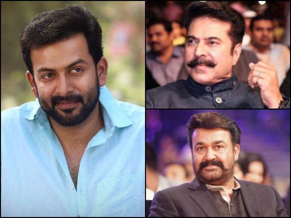 I Am A Big Fan Of Mammootty And Mohanlal: Prithviraj