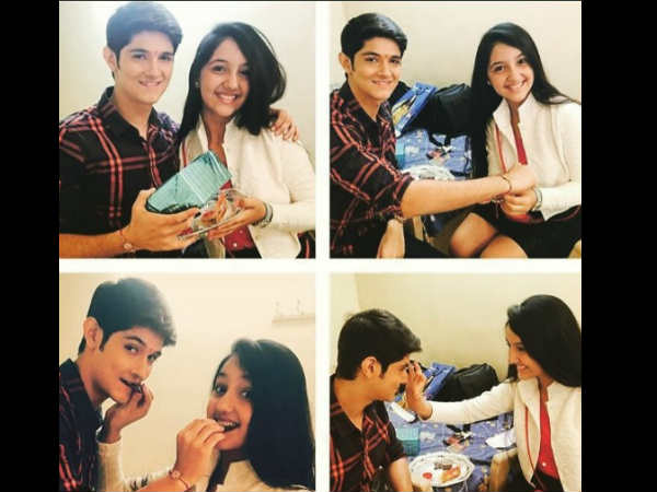 "Ashnoor Kaur, who played the role of younger Naira, is back on the sets of Yeh Rishta Kya Kehlata Hai. Wondering why?  Well, Ashnoor was on the sets of YRKKH to tie rakhi to his on-screen brother, Rohan Mehra, who plays the role of Naksh. It has to be recalled that Naksh and Naira not only shared good bond on-screen, in real life too, Rohan considers Ashnoor as his sister.  Posting a collage snapped with Rohan, Ashnoor wrote, ""Jo Vada kiya woh.. Nibhana padega!! 😘 😜happy Raksha bandhan every1!! 💕 met him after a loonnnggggg time ! Missed u ! 😘😘 #happy_raksha_bandhan #ashnoor #offscreen #rohan #nakshira #naksh #naira."" Rohan too, posted a picture and wrote, ""#happyrakshabandhan 😘 Thanx Ashnoor for coming on the set and making me feel so special ❤️."" Ashnoor also celebrated Raksha Bandhan with her dad. Posting a picture snapped with her dad, she wrote, ""Since I was an year old .. I hv been away from my brothers .. As all of dem live in North..but MY DAD.. Has never let me feel their absence💕... He is my partner in crime😈.. My best friend👫 .. My superman😚 .. My body guard😉.. N most importantly .. He is my brother💕💕 My mom says .. Dat she has got 2 children ! 😜 #ashnoor #happy_raksha_bandhan #offscreen #mypa!"" Ashnoor further posted a picture snapped on the sets of YRKKH and wrote, ""Feel sooo good 2 cm in d set after such a long time .. Really.. Missed yrkkh a lot ! 😘💕 #ashnoor #yrkkh #Naira."" The actress also shared a picture snapped with YRKKH actors – Hina Khan, Shivangi Joshi, Mohsin Khan and wrote, ""Met dem aftr long tym.. Feel nostalgic .. #Naira #yrkkh #ashnoor #naksh #kathik #mishti #hina #akshara #yerishtakyakehltahai #starplus #instapic."" Looks like the actress had best day celebrating Raksha Bandhan – meeting on-screen brother and co-actors on the sets!"