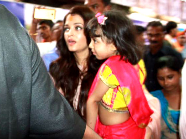 When Aishwarya Visited Ganapati Mandal With Aaradhya
