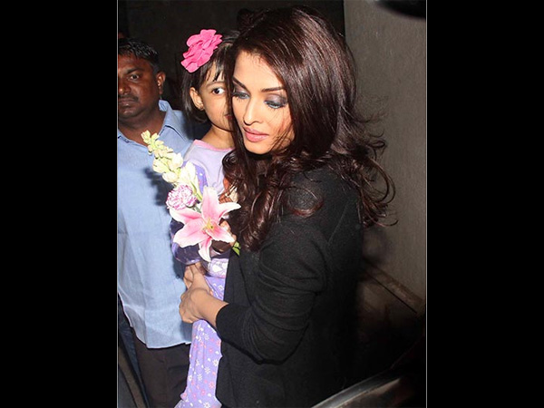 Aish On Carrying Aaradhya