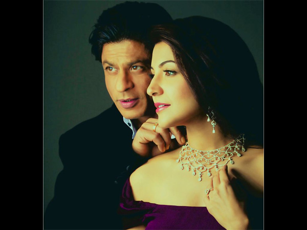 SRK Made Anushka Comfortable