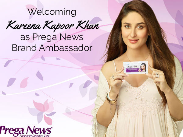 Kareena To Endorse PregaNews