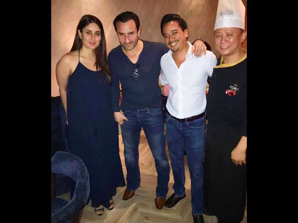 In Pic: Kareena's Recent Dinner Date With Saif