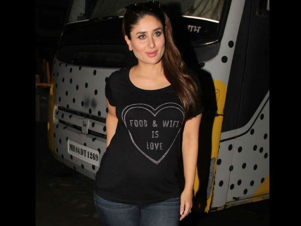 Kareena Snapped Post The Shoot
