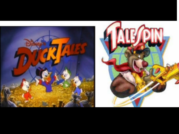 Ducktales & Talespin