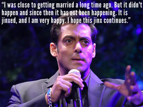Salman On Marriage