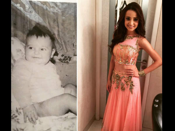 Sanaya's Childhood Picture