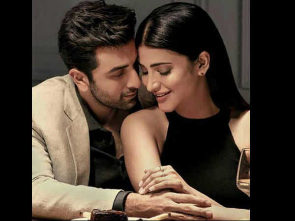 In Picture: Ranbir-Shruti's Ad Photoshoot