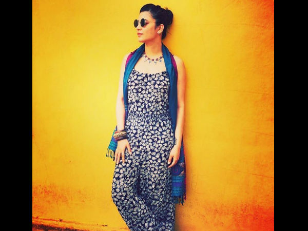 Shruti & Her Cool Look