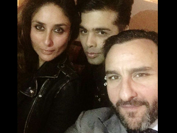 Saif-Kareena Upset With KJo?