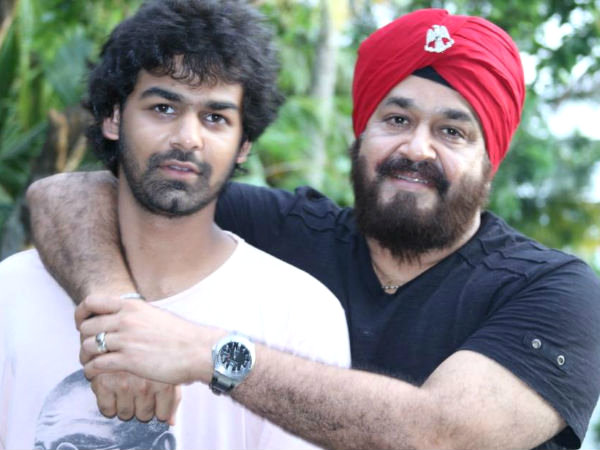 Pranav Mohanlal New Photo Mohanlal Confir...