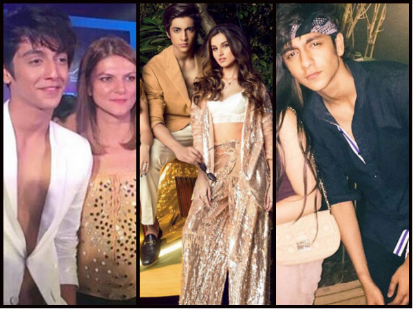 Meet SRK's Son Aryan Khan's Competitor, Ahaan Pandayy, Girls Are Crazy About This Hottie [Pictures]