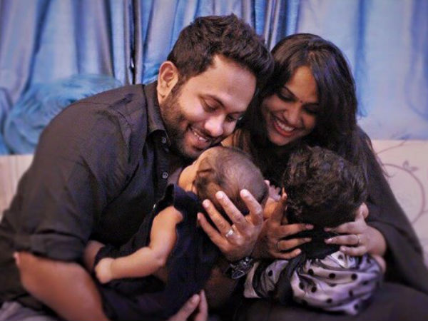 WOW! Aju Varghese & Augustina Blessed With Twins For A Second Time