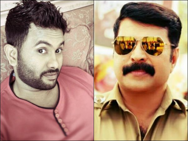 Aju Varghese Takes Lessons From Mammootty!
