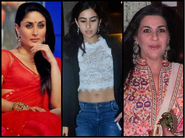 Shocking! Saif's Ex-Wife Amrita Singh Blames Kareena Kapoor For Daughter Sara Ali Khan's Bold Avatar