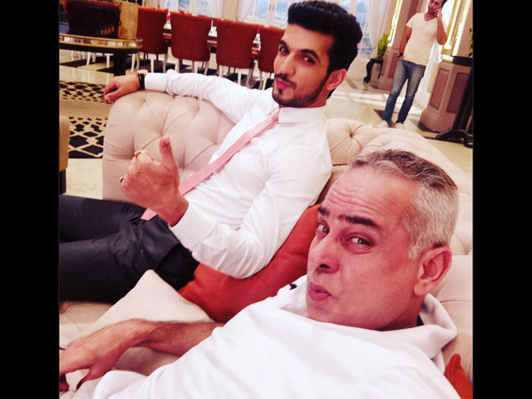Check Out Arjun Bijlani's First Look From The Sets Of 'Pardes Mein Hai Mera Dil'!