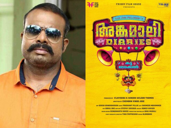 Chemban Vinod Jose Turns Scriptwriter!