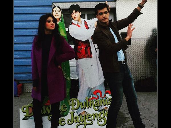Yeh Rishta Kya Kehlata Hai: Mohsin Khan & Shivangi Joshi Pay Tribute To Dilwale Dulhaniya Le Jayenge