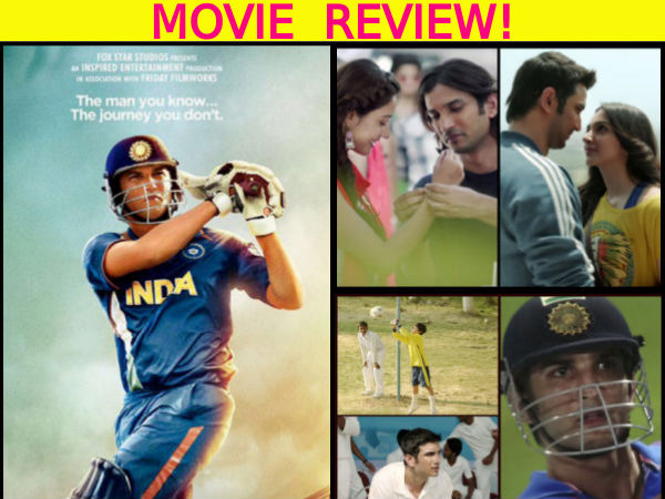 MS Dhoni - The Untold Story Movie Review: Not Just A Biopic, But A Milestone In Sushant's Career!