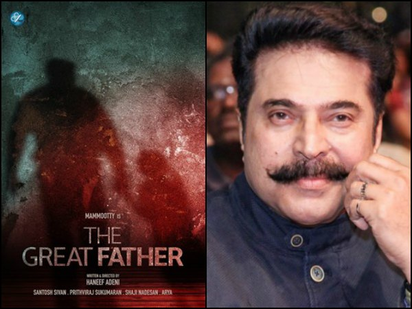 Mammootty's The Great Father Starts Rolling!
