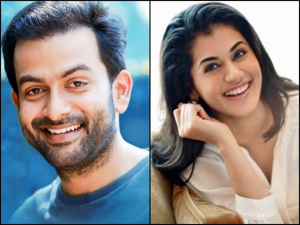 Prithviraj's Bollywood Movie Starts Rolling!