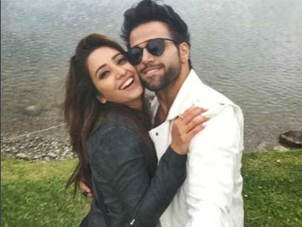 Pavitra Rishta Love Birds Asha Negi & Rithvik Dhanjani Holidaying In Switzerland! (PICS)