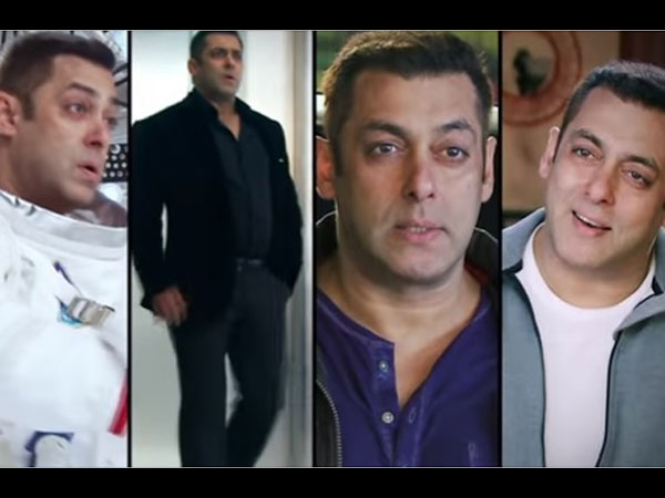 The Making Of Bigg Boss 10 Promos: Salman Khan Enjoys While Shooting (PICS)