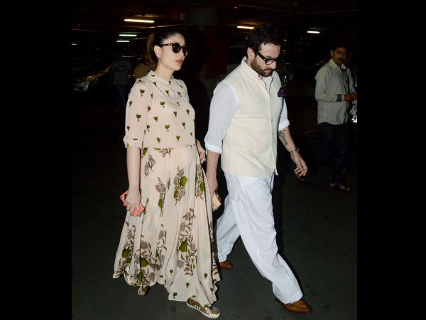Kareena At The Airport