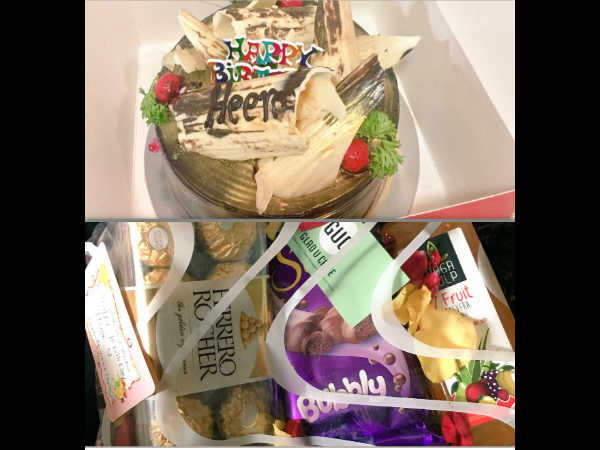 Hina Khan's Birthday Gifts
