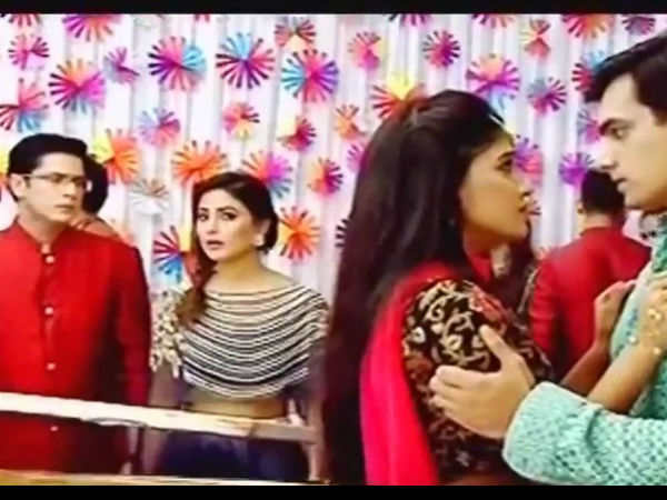 Akshara Watches Naira & Kartik Together!