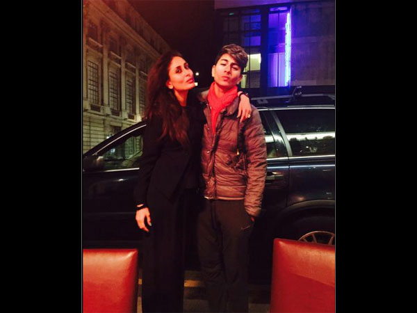 Ibrahim With Kareena
