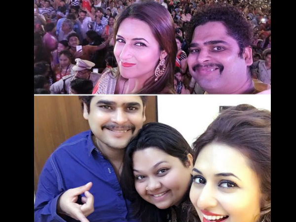 Divyanka Thanks Her Managers...