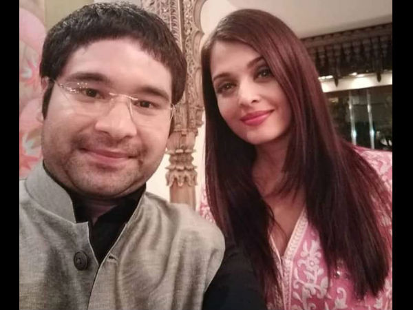 Aishwarya With A Guest