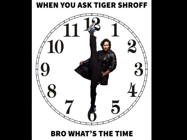 Hey Tiger, What's The Time?
