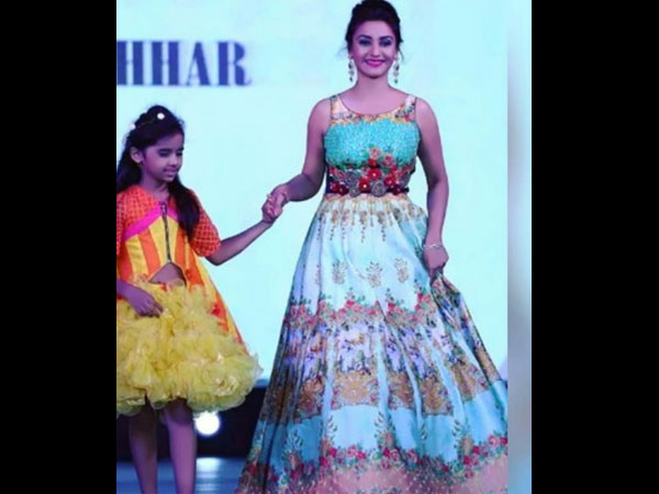 Rati Walks The Ramp