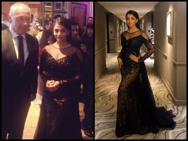 Aishwarya Rai Bachchan Makes Heads Turn..