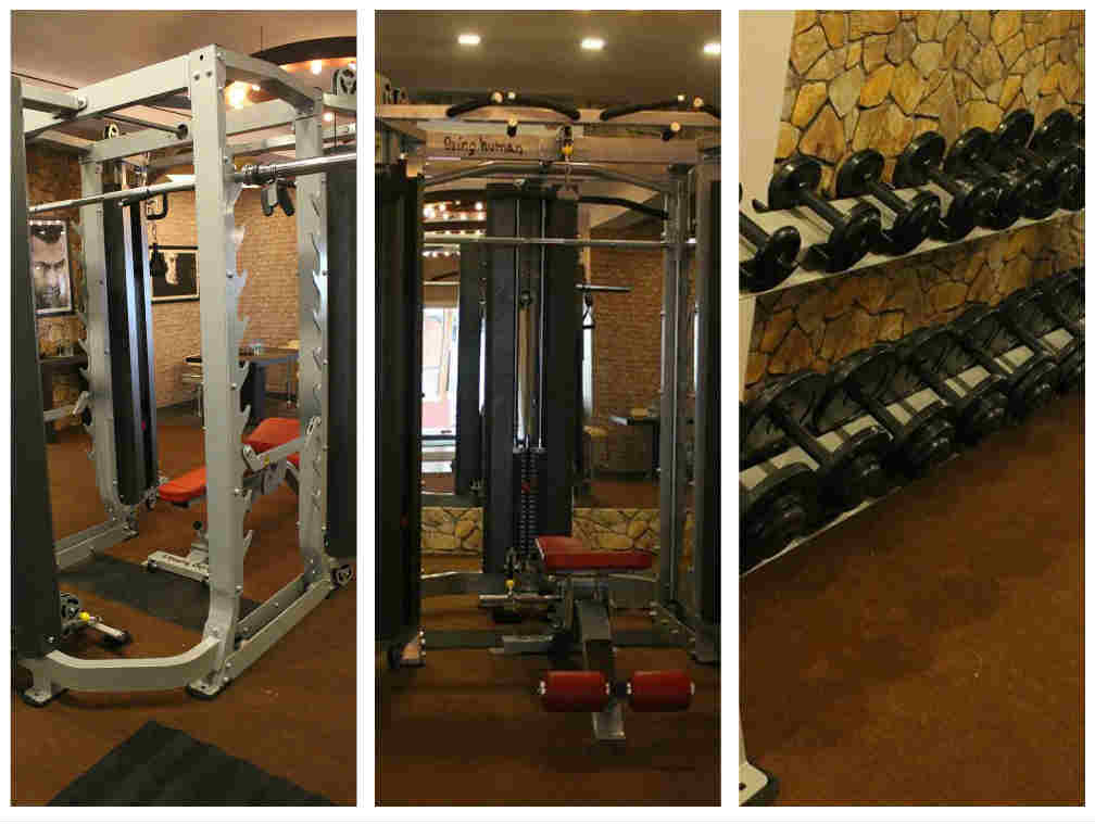 In Pic: Salman's Gym