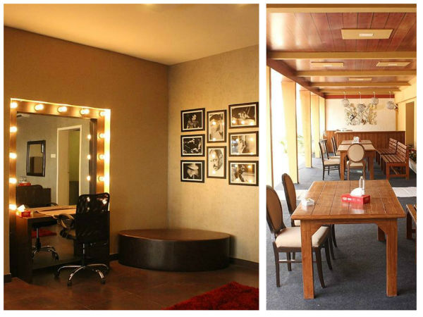 In Pic: Dressing Table & Dining Hall