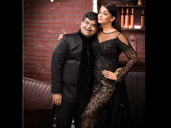 Aishwarya With Jitesh Pillai
